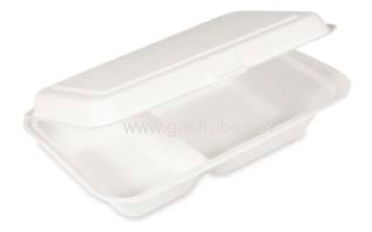 BIO Menu box 2-dielny 250 x 162 x 63 mm, 50ks