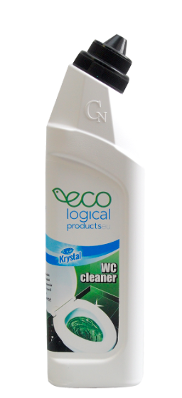 KRYSTAL WC čistič ECO zelený 750 ml, 1ks