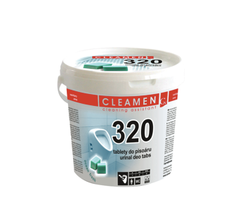 CLEAMEN 320 deo tablety do pisoáru 1,5kg, 1ks