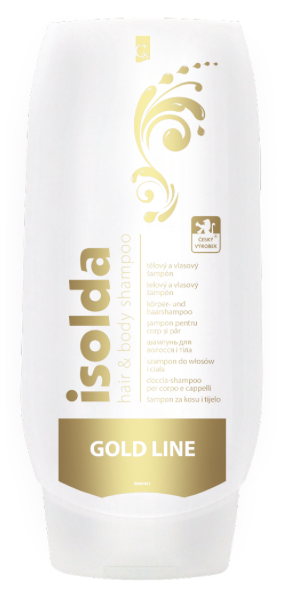 Isolda Hair&body GOLD 500ml, 1ks