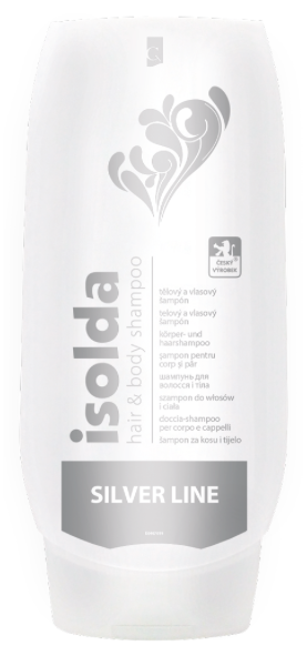 Isolda Hair&body SILVER 500ml, 1ks