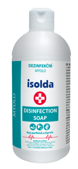 Dezinfekčné mydlo Isolda medispender 500 ml, 1ks